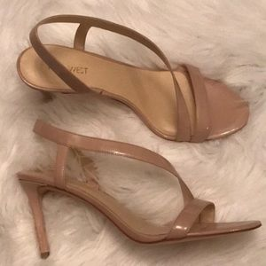 Nine West patent leather new high heeled sandals